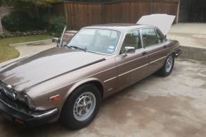 Only 27k miles on this garage kept XJ Vanden Plas, second owner.