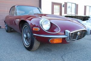 1972 Jaguar XKE Series 3 V-12 Coupe Manual Transmission Wire Wheels Needs TLC