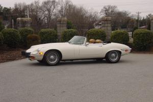 1974 JAGUAR XKE CONVERTIBLE 44,836 original miles!