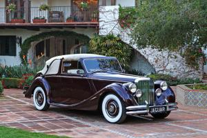 1950 Jaguar Mark V Drophead Coupe: Gorgeous, Well Sorted, Numbers Matching MK V