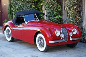 1952 Jaguar XK120 Roadster: Beautiful, All Numbers Matching, Mechanically Strong