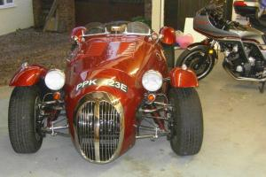 Jaguar based english 50's style roadster -4.2 XK purpose built engine.