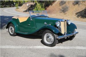 1952 MG TD - Restored, California Car Photo