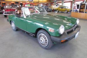 1976 MG Midget Convertible British Racing Green Photo