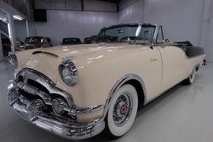 1954 PACKARD CARIBBEAN CONVERTIBLE, 1 OF 400 PRODUCED - LOWEST OF ANY YEAR!