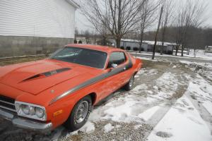 1973 plymouth road runner, car is in great shape for the age