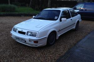 Ford Sierra RS Cosworth 3DR White 1987 FSH Rare Classic 3 Door PX P/X