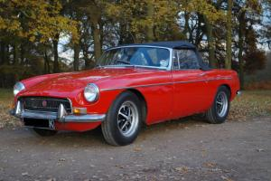 MGB Chrome Bumper Roadster Convertible Overdrive 1972 Tax Exempt (Tax & MOT'd) Photo
