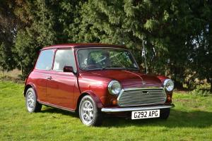 Austin Mini Thirty 1.0 Pearlescent Cherry Red