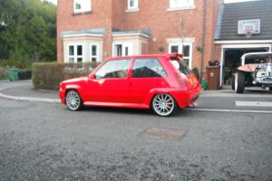 1990 RENAULT 5 GT TURBO RED TORSION TUNING EX-DEMO