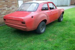 Ford escort mk1 Mexico 1972 AVO steel big wing,