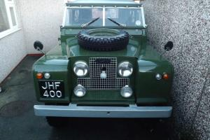 land rover series 2 Photo