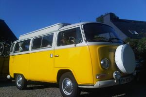 Vw Type 1972 Bay Window Devon Camper Van Photo