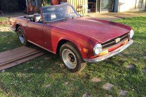 1971 Triumph TR 6 LHD . Heritage Certificate ,matching no car .