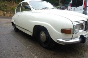 1972 Saab 96v4 tax exempt, economical and unleaded.