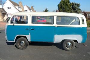 Vw bay 1972 cross over type 2 camper van