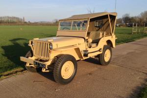 Willys licence built Mahindra Jeep
