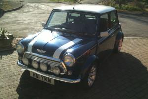 Rover Mini Cooper Sportspack 1.3 MPI Tahiti Blue **Rust Free 53000 miles** Photo
