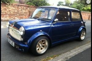 Rover Classic Mini Italian Job Zeemax 1275 Carb Show Car Immaculate 45k Restored