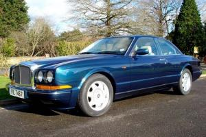 1992 BENTLEY CONTINENTAL R TURBO 2-DOOR COUPE PEACOCK BLUE EXCELLENT CONDITION