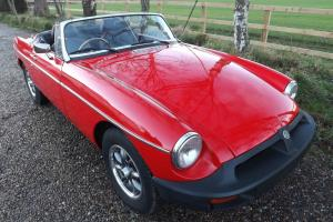 1977 MGB Roadster - Restored Photo