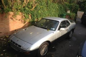 RARE 1980 PORSCHE 924 TURBO SILVER/GREY - PERFECT CONDITION