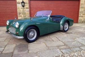 TRIUMPH TR2 - LHD. Photo