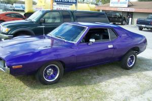 1971 AMC Javelin  6cyl  3 speed in floor