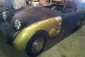 1960 Austin Healey Mk1 Bugeye Sprite Project Photo