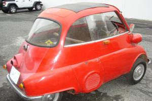 Rare 1958 BMW Isetta 250cc.  Built at Munich factory.  Right hand drive.