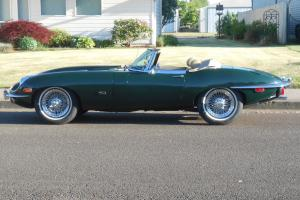 1971 JAGUAR XKE ROADSTER ,VERY RARE LATE CAR ,FACTORY AC ,XLINT CONDITION, Photo
