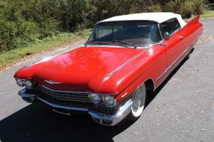 1960 Cadillac Coupe Deville Convertible driving numbers match car Storage find!