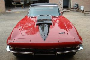 1967 Red Corvette Roadster