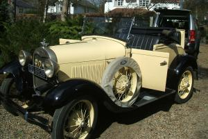 Ford Model A Roadster 1928 Might part exchange with diesel Audi TT or Land Rover  Photo
