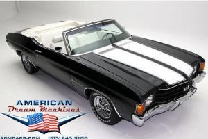 1972 CHEVELLE CONVERTIBLE WITH SS STRIPES