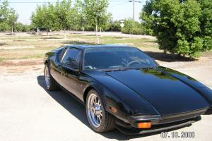 1973 DeTomaso Pantera Base Coupe 2-Door 351 Cleveland