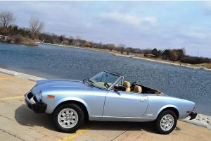 84 Fiat Pininfarina Spider Roadster Salon 6/14 Delivery Rust free West Coast car