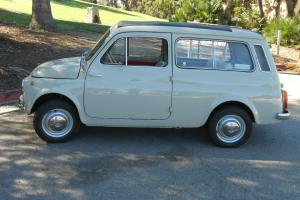 Beautiful 1963 Fiat 500 Giardiniera Survivor- 13,000 Originial Kilometers