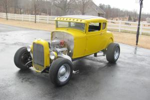 1930 MODEL A 5 WINDOW COUPE - CUSTOM BUILD - ALL NEW - CHOPPED - RUMBLE SEAT