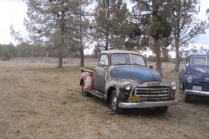 1952 GMC 1/2 ton pickup, Short bed