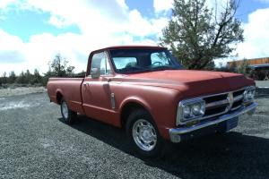 1967 GMC 2500 fleetside SAVED FROM FIELD!!!!!