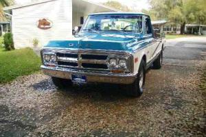 1970 CHEVY GMC PICKUP-VINTAGE-CLASSIC-MUSCLE TRUCK-BODY OFF RESTORED! -