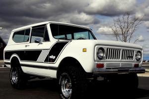 1973 International Scout II 4x4. Rallye package