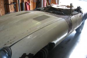 1968 Jaguar E-Type XKE Series 1.5 Roadster, Very Restorable vehicle