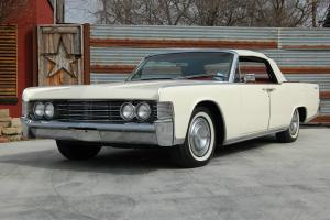 1965 Lincoln Continental Convertible, White / Red, Documented Restoration, Mint!