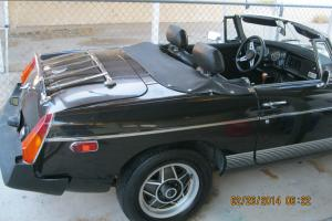 1980 BLACK MG NICE BODY Photo