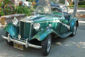 1952 MG -TD - Older Restoration California Car Photo