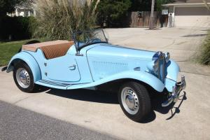 1951 MG TD MGTD Clipper Blue Photo