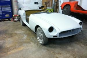 1972 MGB Roadster Ready for Paint