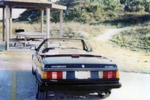 Maserati Biturbo Spyder 1986 black/tan